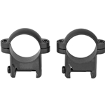 "Burris Steel 1"" Zee Rings, Medium - Matte"