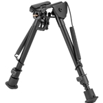 "Harris 1A2-Series Model LM Ultralight Bipod, 9-13"" Notched Legs"