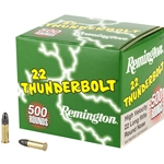 Remington Thunderbolt .22LR, 500 Rounds