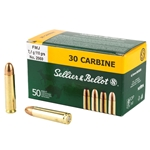 Sellier & Bellot .30 Carbine, 110gr FMJ