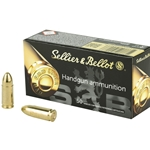 Sellier & Bellot 9mm, 115gr FMJ