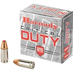 Hornady Critical Duty 9mm, 135gr FlexLock