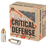 Hornady 380acp Critical Defense, 90gr FTX