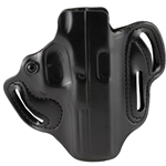 DeSantis Speed Scabbard Belt Holster, RH for Glock 17, 22, 31 - Black