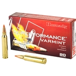 Hornady Superformance Varmit .223 Rem, 53gr V-Max