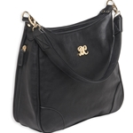 Bulldog Hobo Style CCW Purse - Black