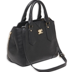 Bulldog Satchel Style CCW Purse - Black