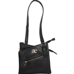 Bulldog Crossbody Style CCW Purse - Black