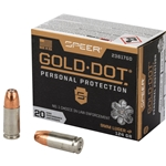 Speer Gold Dot  9mm+P, 124gr GDHP
