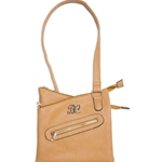 Bulldog Crossbody Style CCW Purse - Tan