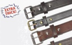 "P & B Harness The Bull Belt, 1-1/2"" size 44 - Black"