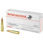 Winchester 7.62x39mm, 123gr FMJ