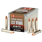 Hornady Critical Defense .22 WMR, 45gr FTX