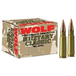 Wolf Military Classic .308 Win, 140gr SP