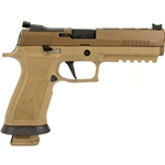 "Sig Sauer P320 X5 9mm, 5"" (4) 21-RD Mags - Coyote"