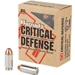 Hornady Critical Defense .40S&W, 165gr FTX