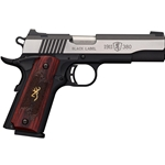 Browning Black Label 1911 Medallian Pro .380acp - 4.25""