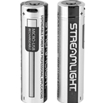 StreamLight SL-B26 18650 USB Rechargeable Lithium Ion Battery 2-Pack