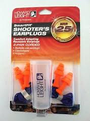 Howard Leight SmartFit Shooter's Earplugs
