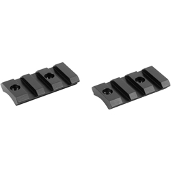 Burris Xtreme Tactical Steel 2-Piece Bases, Savage Round Rear 10/110 Actions
