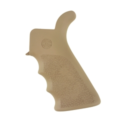 Hogue AR15 Beavertail Monogrip w/ Finger Grooves- Desert Tan