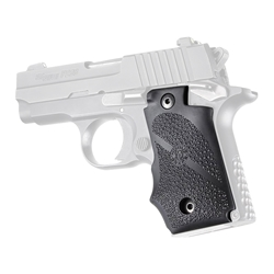 Hogue Automatic Wraparound Grip for Sig P238, Black