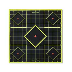 "Birchwood Casey Shoot-N-C 8"" Self- Adhesive Targets, 15PK"