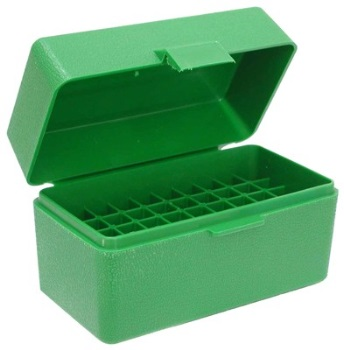 MTM Case-Gard Rifle Ammo Box, Small- 50RD