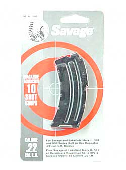 Savage 10-Round mag for Mark II/900, .22lr or .17 Mach II