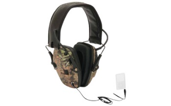 Howard Leight Impact Electronic Earmuffs- Camo