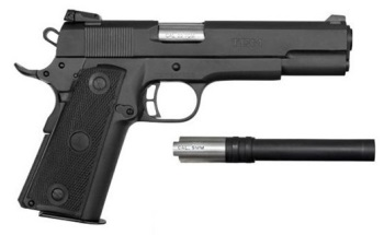 Armscor Rock Island Armory 1911 Tactical .22 TCM/ 9mm Conversion, 5""