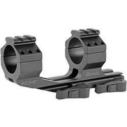 Burris AR P.E.P.R. QD 30mm Scope Mount w/ Picatinny & Smooth Ring Tops
