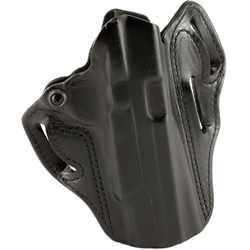 "DeSantis Speed Scabbard Belt Holster, RH for 5""  1911 With or w/out Half Rail - Black"