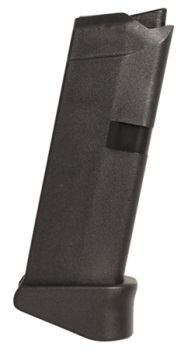 Glock 43 9mm Magazine, 6-Round with Extension