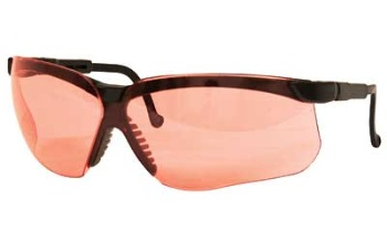Howard Leight Genesis Sharp-Shooter Safety Glasses - Vermilion Lens
