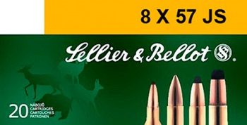 Sellier & Bellot Rimmed, 8X57 JR Soft Point