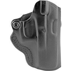 DeSantis Mini Scabbard Belt Holster, RH for Glock 19, 23, 32, 36 - Black
