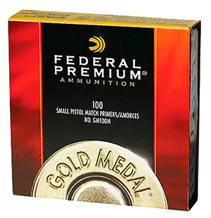 Federal Gold Medal Match Large Pistol Primers - 100pk
