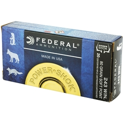 Federal Power-Shok .243 Win, 80gr Soft Point