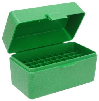 MTM Case-Gard Rifle Ammo Box, Medium - 50RD