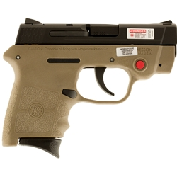 Smith & Wesson M&P Bodyguard 380, Crimson Trace Laser, FDE
