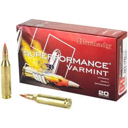 Hornady Superformance Varmint .243 Win, 58gr V-Max