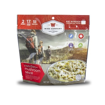 Wise Company Noodles with Beef Camping Food