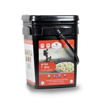 Wise Company 7 Day Food Supply Bucket - 50 Servings