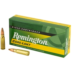 Remington Core-Lokt 7.62x39mm, 125gr PSP