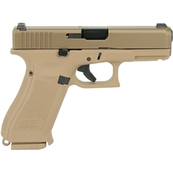 Glock 19X Gen 5, 9mm - Coyote Tan
