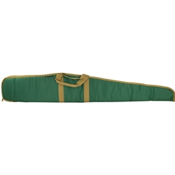 "Bulldog Pitbull 52"" Shotgun Case - Green/Tan"