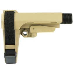 SB Tactical Adjustable AR Pistol Brace - FDE