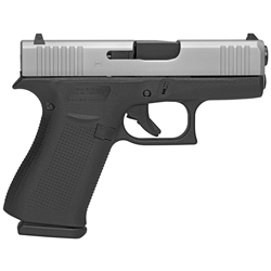 Glock 43X, 9mm - Stainless