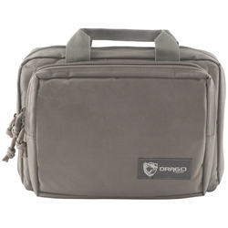 Drago Gear Double Pistol Case - Gray